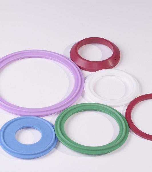 Juntas clamp de colores
