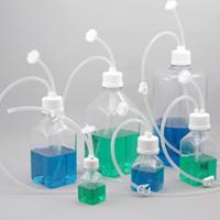 botellas estériles